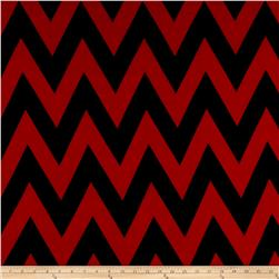 ITY Knit Chevron Black/Red