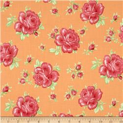 Verna Mosquera Sugar Bloom Icing Rose Tangerine