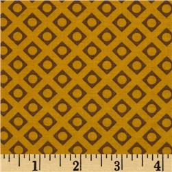 Moda Comtempo Dotty Blocks Mustard