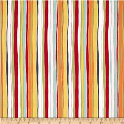 Meadow Stripe Red