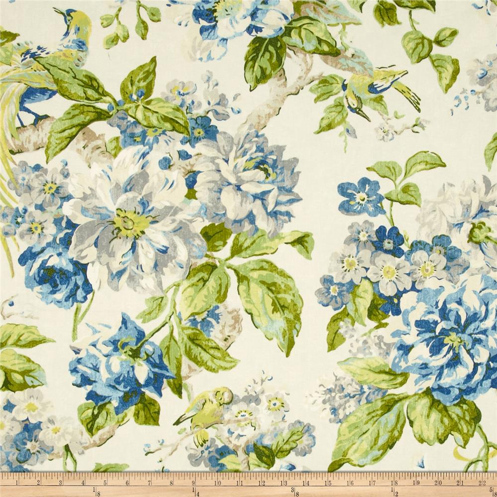 Waverly Floral Engagement Twill Porcelain