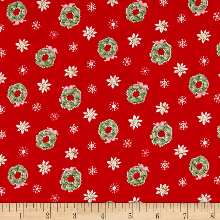 Penny Rose Little Joys Wreath Red