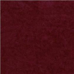 Deer Suede Velour Wine