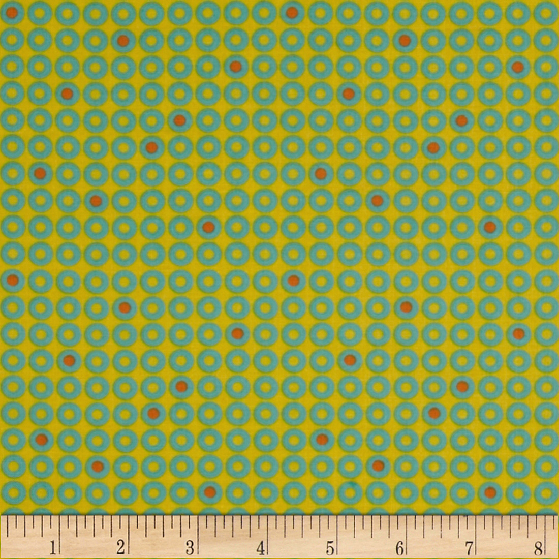 Moda Sphere Dots Sunshine Fabric