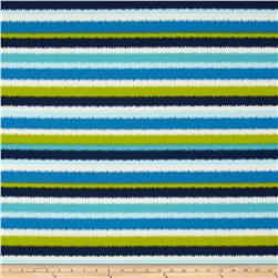 Tempo Indoor/Outdoor Cardio Run Stripe Blue/Green Fabric
