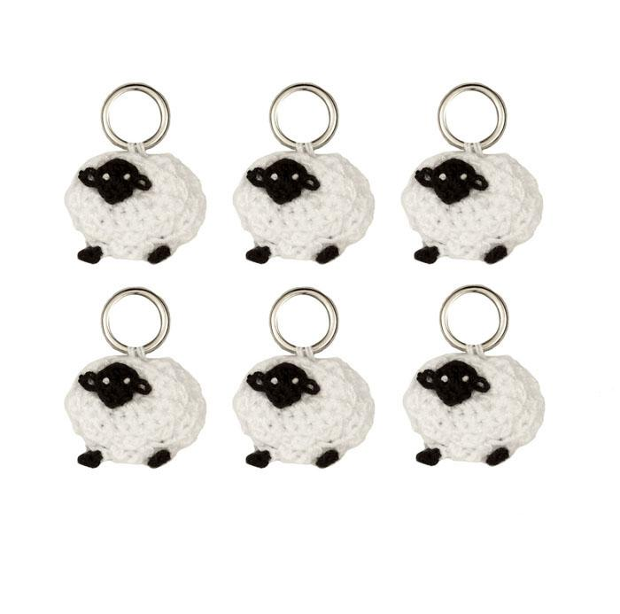 Sheep Stitch Markers 6/Pkg
