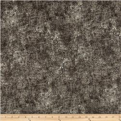 Stonehenge Hidden Valley Flannel Abstract Dots Brown