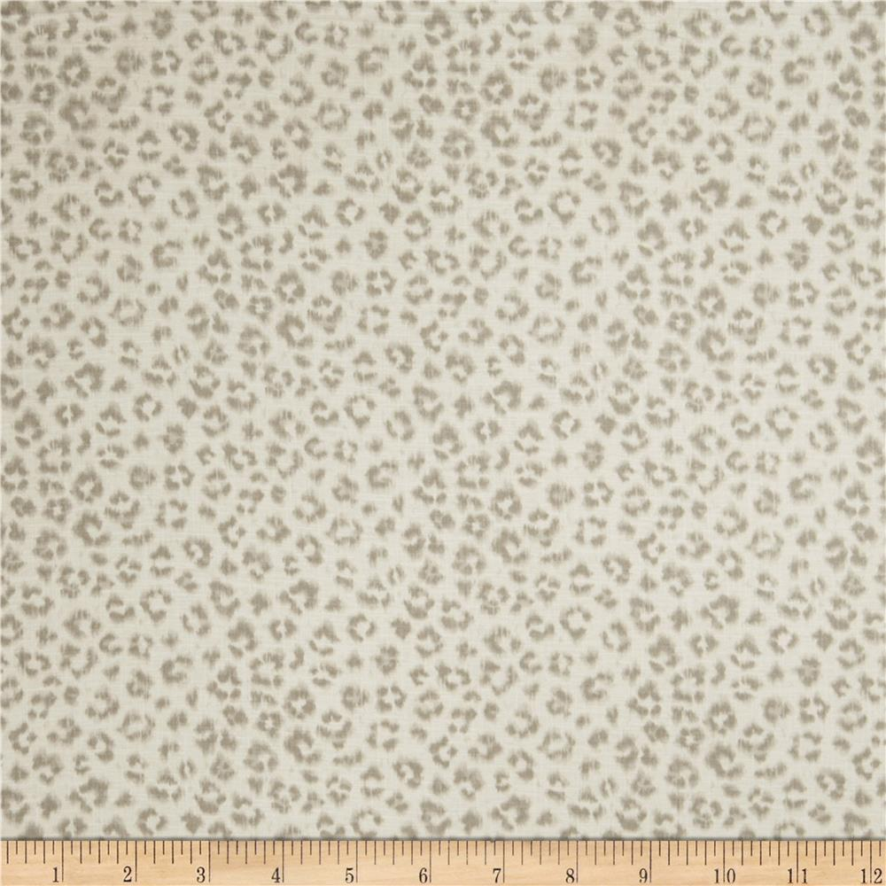 Jaclyn smith 02100 animal print blend dove grey discount for Designer animal print fabric