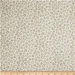 Jaclyn Smith Animal Print Blend Dove Grey