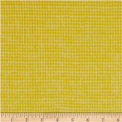 Local Color Yarn Dyed Flannels Mini Woven Yellow