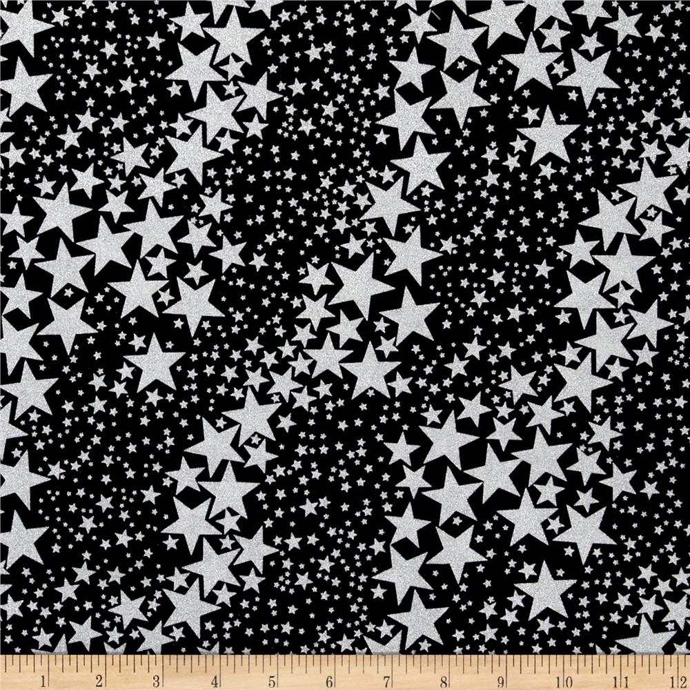 Kanvas Frost Sparkle Star White