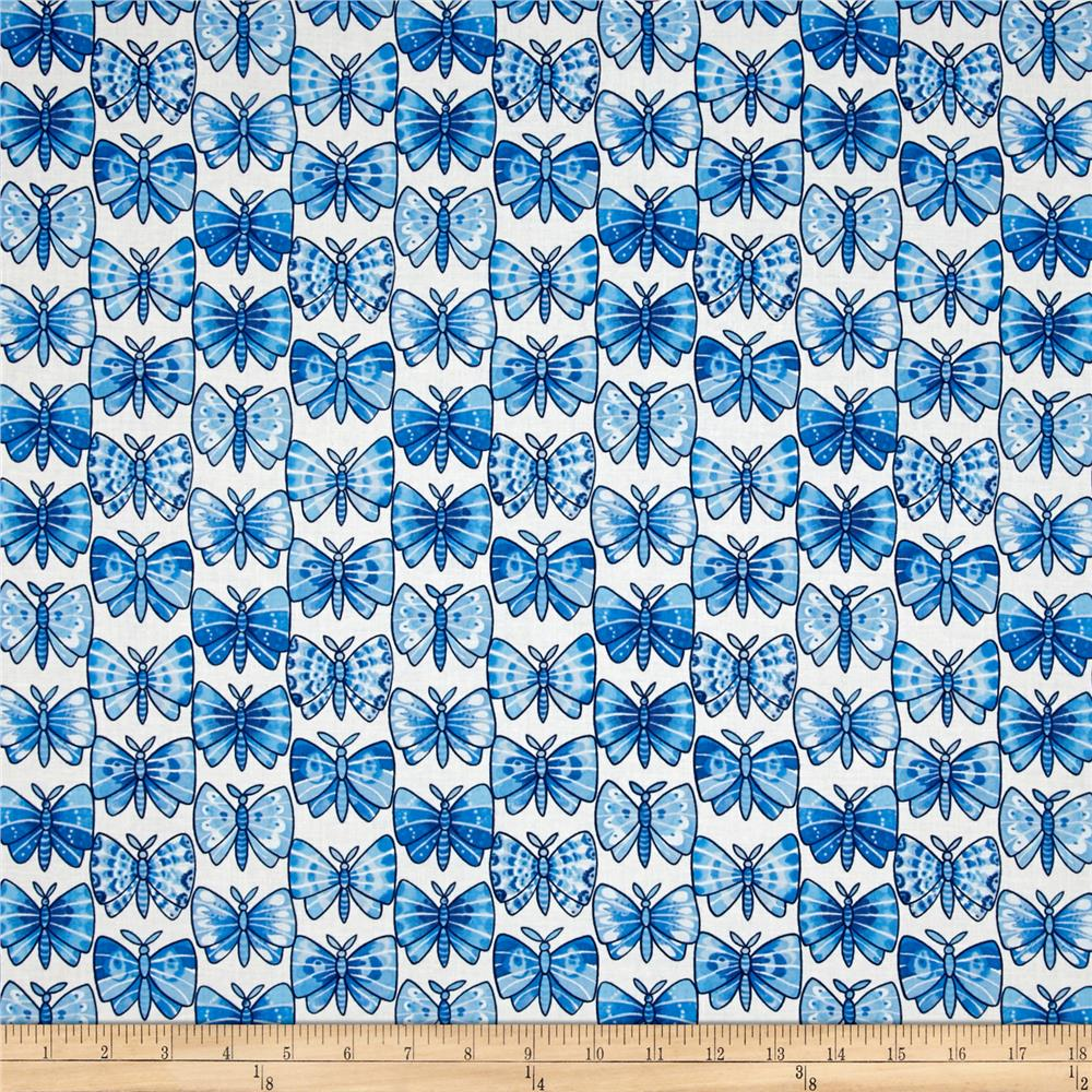Luminaria Butterfly Stripe Blue