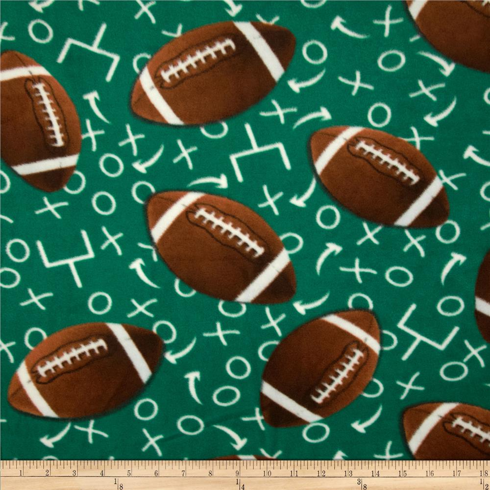 Fleece Football Play By Play Green