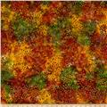Benartex Bali Batiks Sunset Valley Green Multi