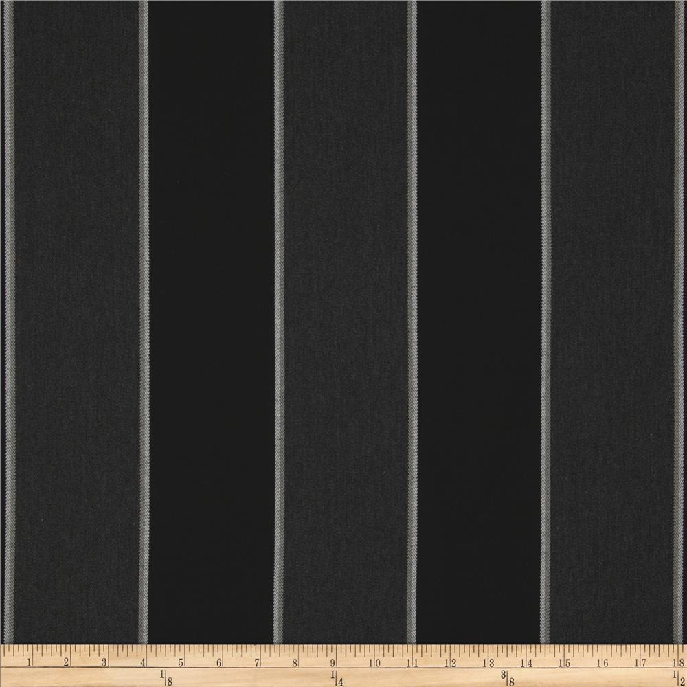 Sunbrella Outdoor Peyton Stripe Granite