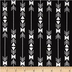 Riley Blake Four Corner Stripe Black