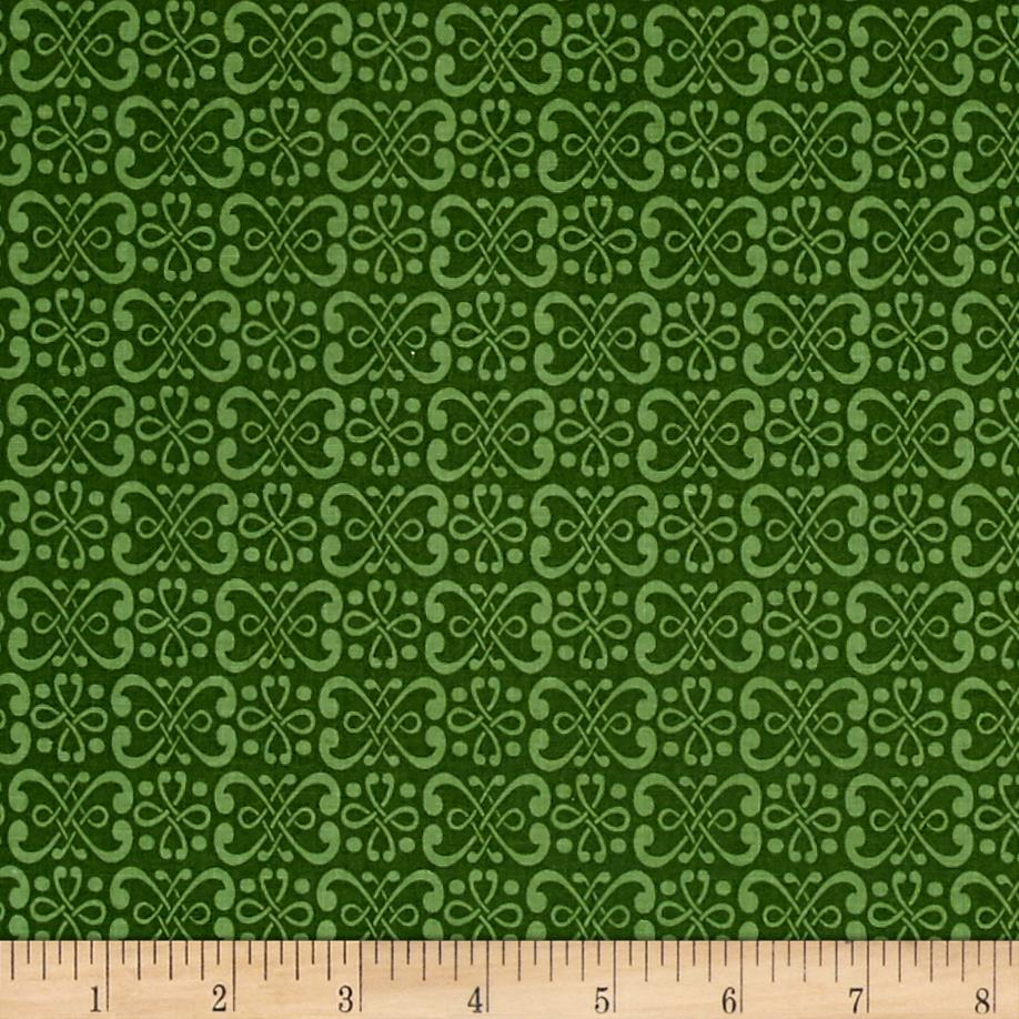 Dogwood Lane Geometric Green