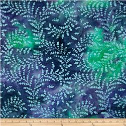 Indian Batik Gypsy Vine Blue