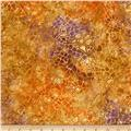 Batavian Batiks Crackle Burnt Orange