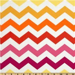 Michael Miller Stripes Chic Chevron Sun Yellow Fabric
