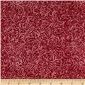 Timeless Treasures Pearlized Texture Crimson