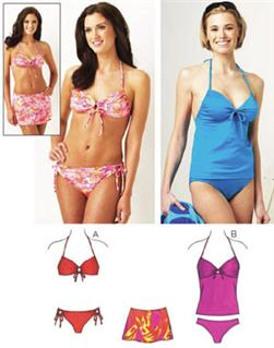 Kwik Sew Misses Swimwear Pattern