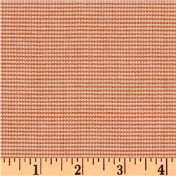 Yarn Dyed Rayon Blend Shirting Gingham Orange/White
