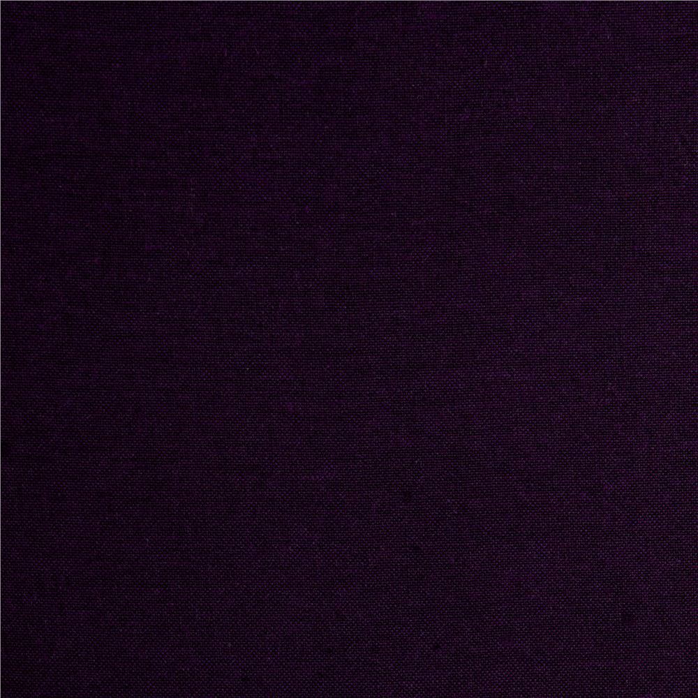 "Peppered Cotton 108"" Wide  Yarn Dye Aubergine"