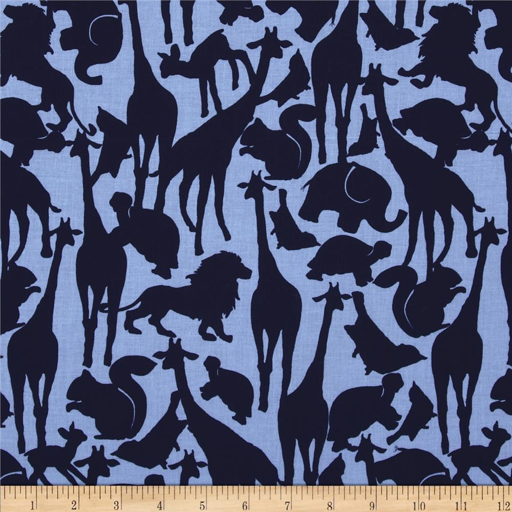 Michael Miller Cynthia Rowley Oh Baby Animal Silhouettes