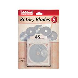 TrueCut Rotary Cutter Replacement Blades 45mm 5/Pkg