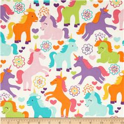 Michael Miller Sorbet Magic Unicorns Sorbet Fabric