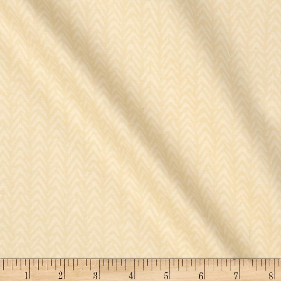 Heather Bailey Ginger Snap Herringbone Cream