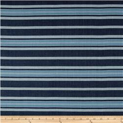 Laura & Kiran London Stripe Canvas Navy/Sky