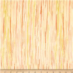 Watercolor Garden Wildwood Stripe Apricot/Rose