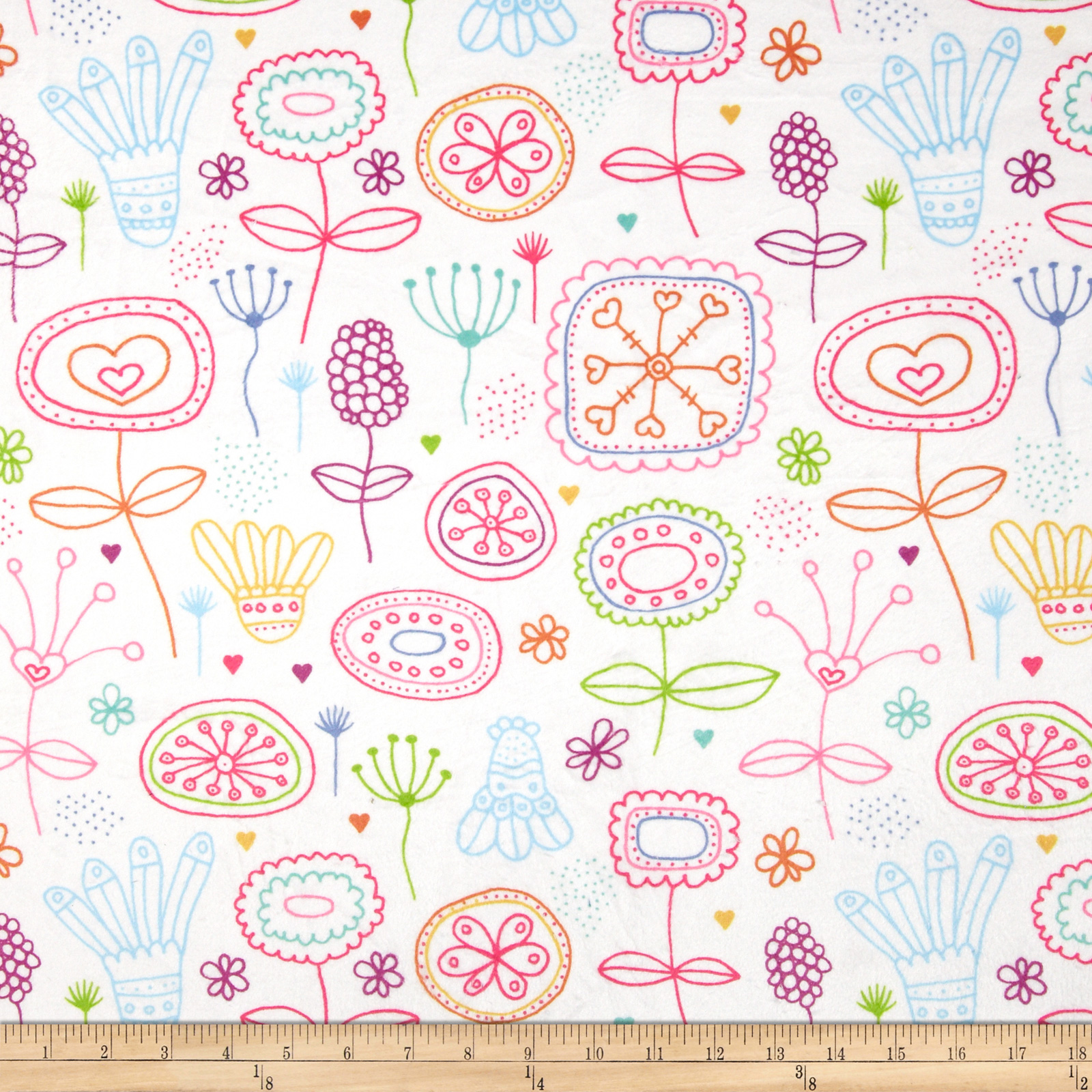 Minky Kinder Pink Fabric