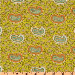 Paisley Collection Babushka Yellow