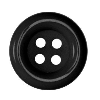Fashion Button 1 1/2'' Pizazz Black