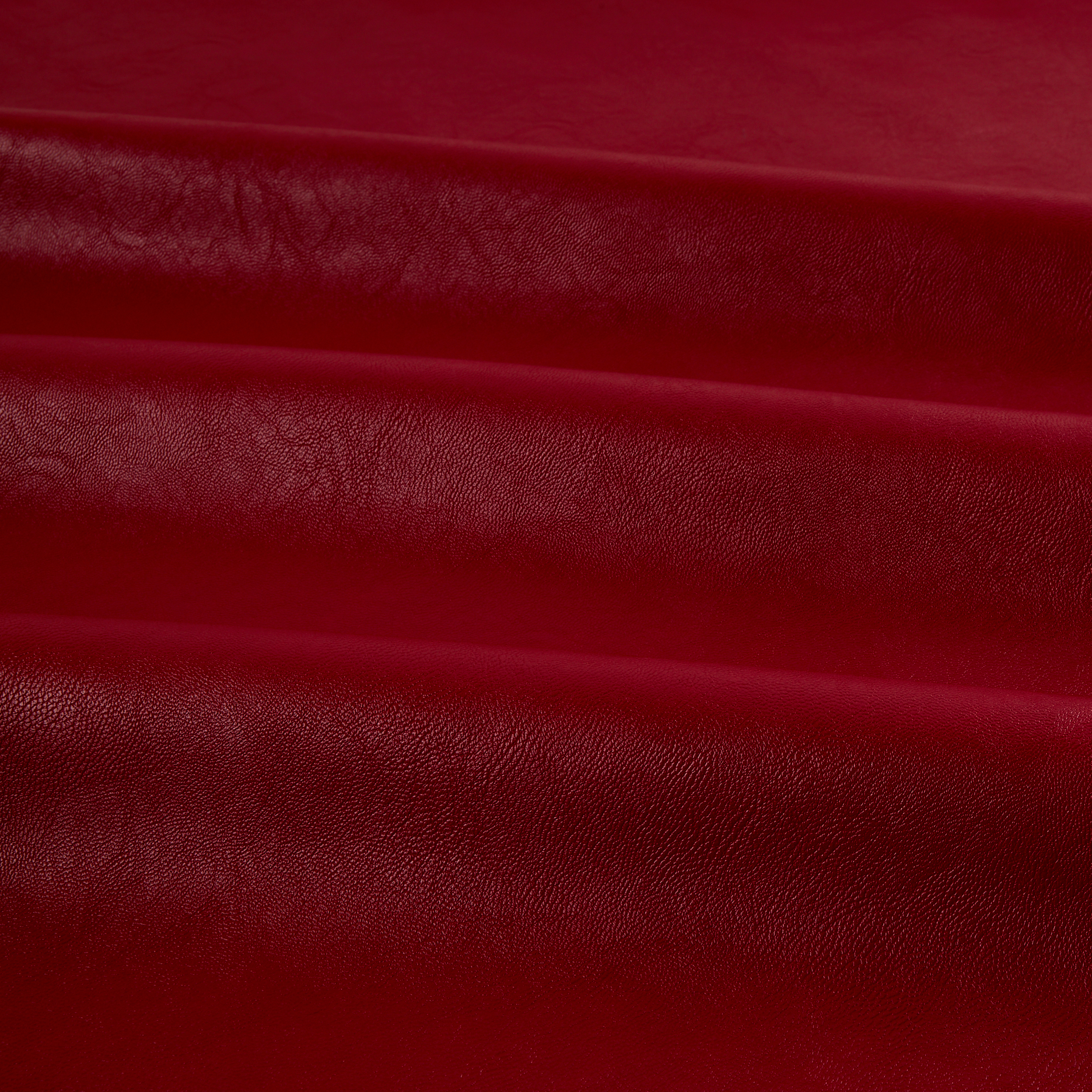 Telio Perfection Fused Faux Leather Red Fabric by Telio in USA