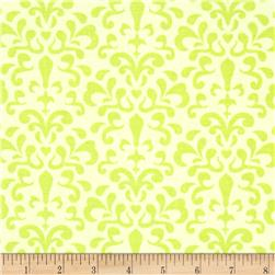 Riley Blake Ashbury Heights Damask Citron