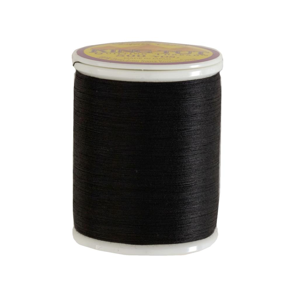 Superior King Tut Cotton Quilting Thread 3-ply 40wt 500yds Ebony