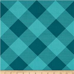 Joel Dewberry Modernist Pure Plaid Aegean