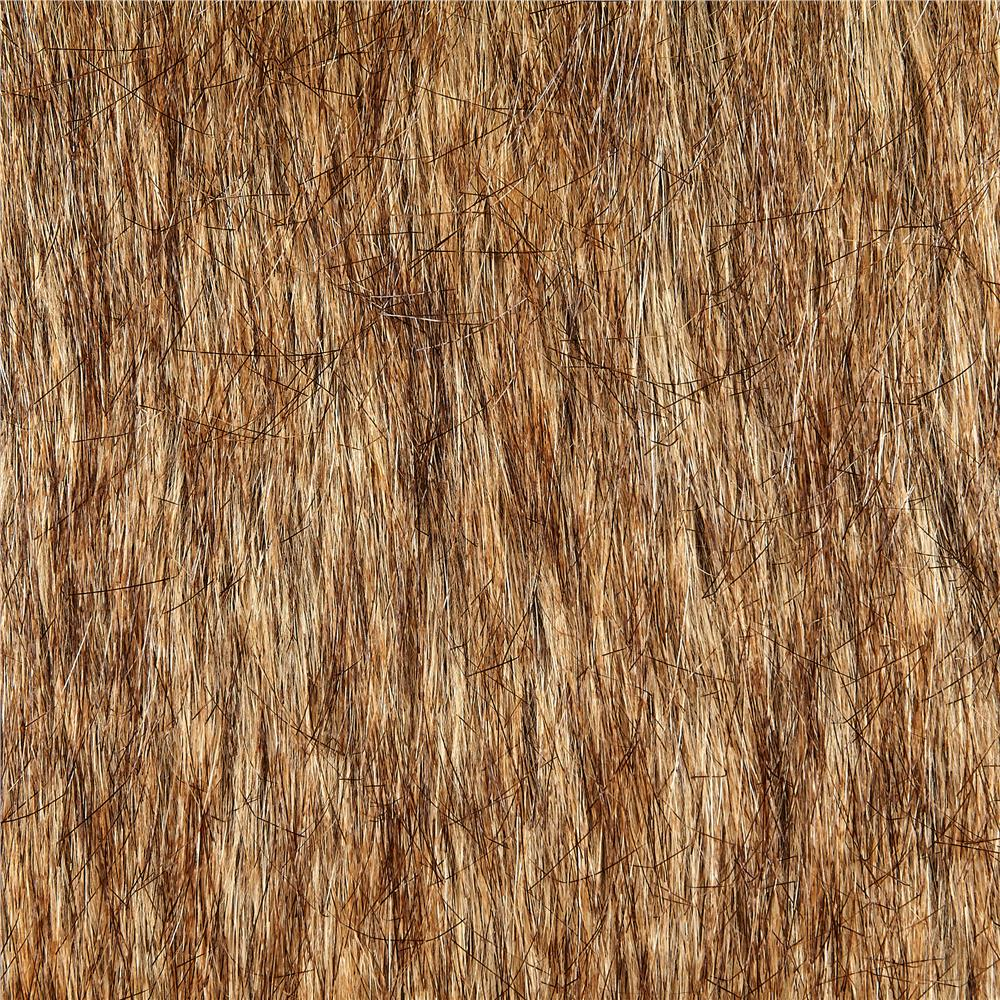 Luxury Faux Fur Tip Dyed Fox Gold