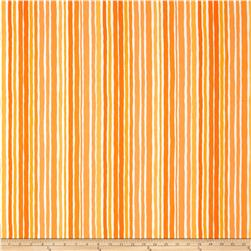Moda Dot .Dot.Dash-! Wobbly Strips Orange
