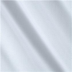 Robert Kaufman White Shirt Dobby Diagonal Stripe White