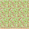 Riley Blake Home for the Holidays Candy Green