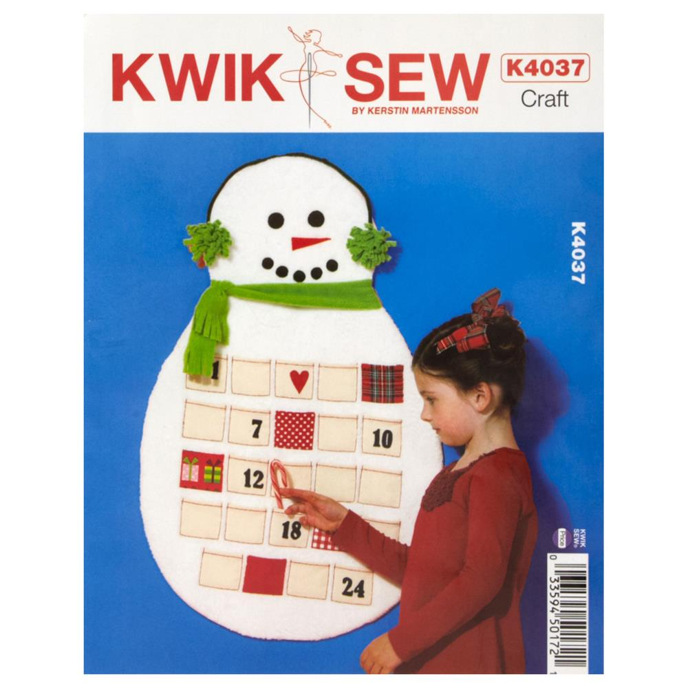 Kwik Sew Craft Countdown to Christmas Pattern