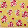 Riley Blake Sidewalks Floral Yellow