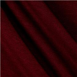 Rayon Spandex Jersey Knit Solid Garnet