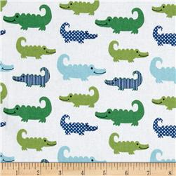 Nursery Little Gentleman Gentleman's Gator Blue