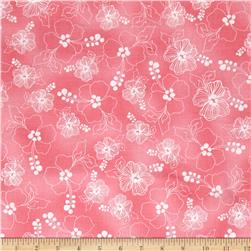 Loralie Designs Hu Lala Lacey Hibiscus Pink